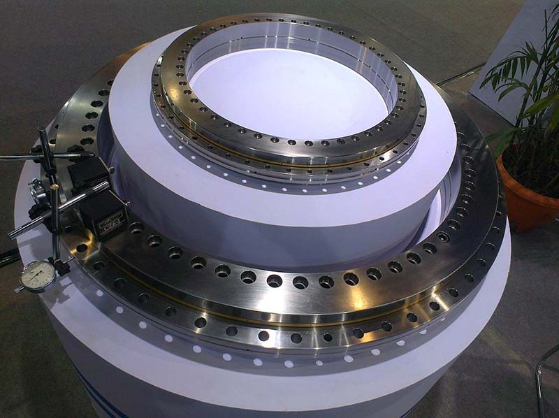 China supplier Non-gear and External gear and Internal gear susan Three-row Roller Slewing bearing