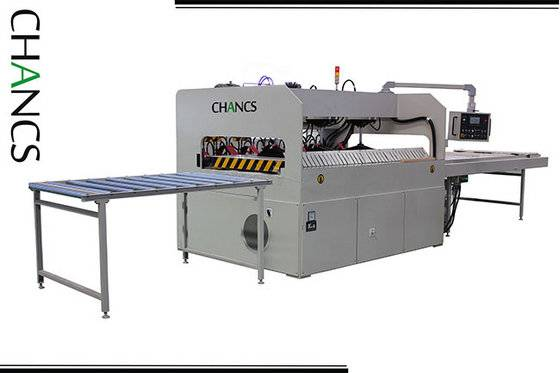 High Frequency Edge Glued Panel Press---CHANCS MACHINE