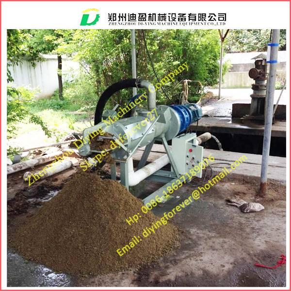 cow dung dewater machine, Cow manure dewater machine/ screw press dewatering machine