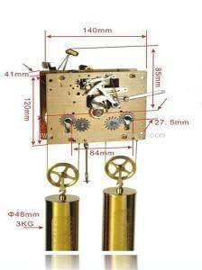 CH Clock Movement 160275