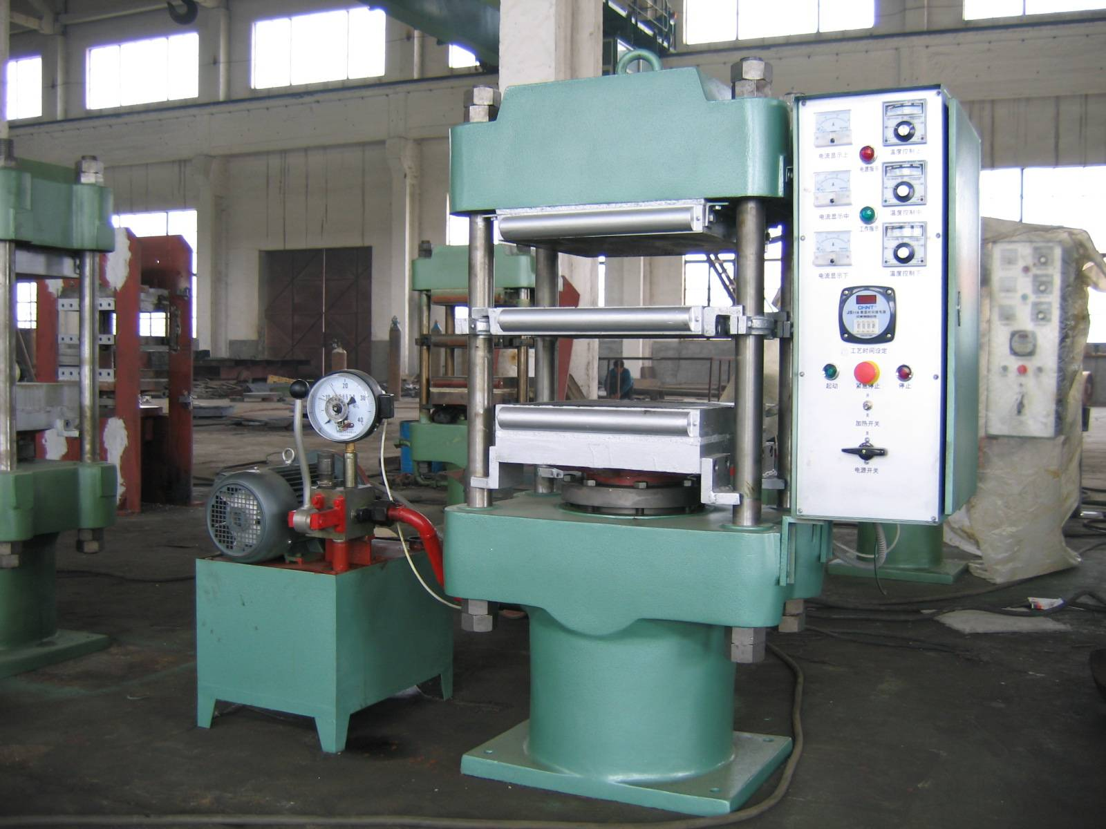 China Manufacture Platen Vulcanizing Press Machine