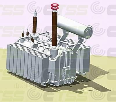 500kV Oil Immersed Single Phase Auto-Power Transformer