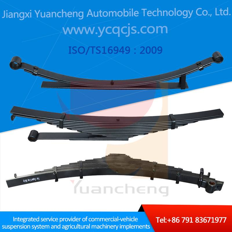 60Si2Mn 51CrV4 Steel Parabolic Small Multiple Leaf Spring