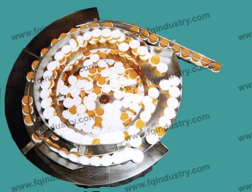 vibratory bowl feeder for  packaging machine