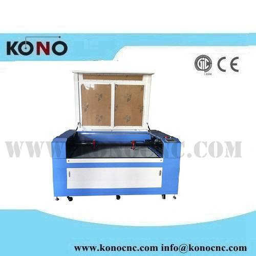 Double head CO2 Laser engraving and cutting machine
