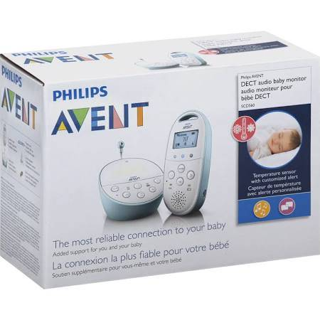 Avent Dect Baby Monitor with Temperature Sensor SCD560