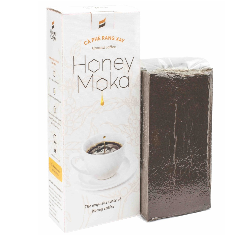 Honee Coffee - Honey Mocha - Ground coffee processed with honey