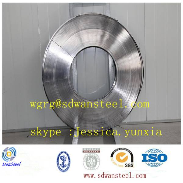 Bimetal steel strip