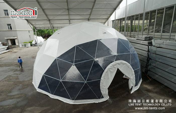 High Quality Geodesic Dome Home Half Sphere Tent for Sale