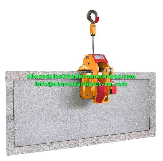 MARBLE GRANITE STONE SLAB ARCTURUS LIFTER LIFTING EQUIPMENT PART