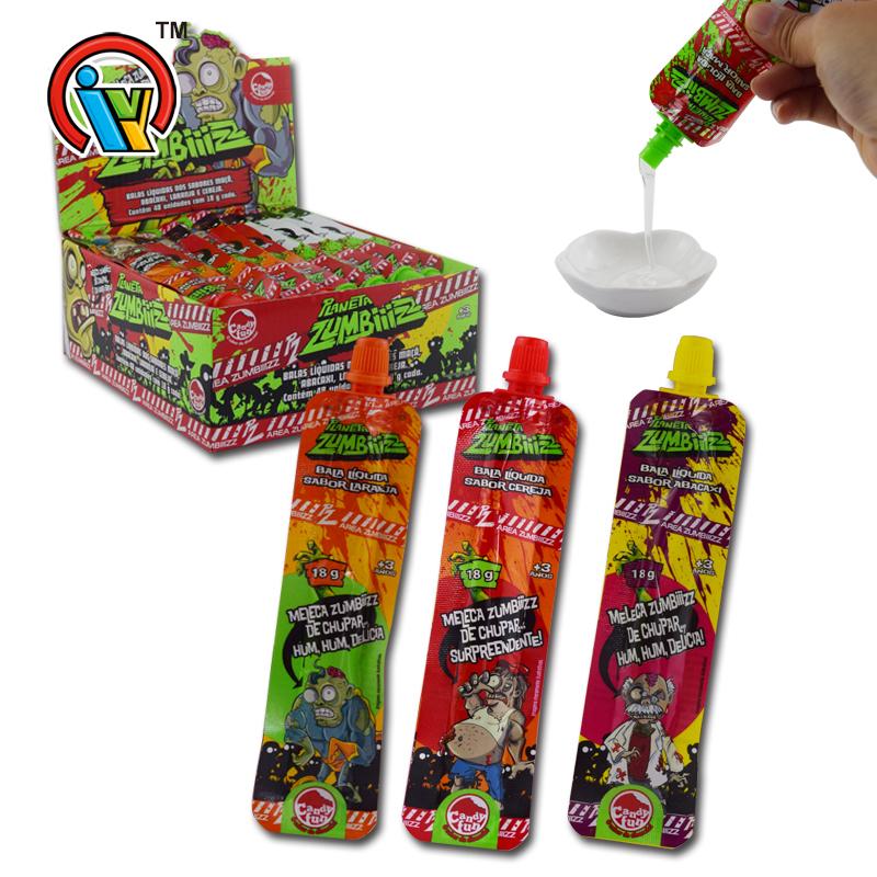 K112 Fruity Liquid Jam Candy