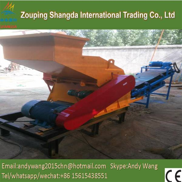Full-Auto Waste Tyre Recycling Production Line, Tire Shredder for Sale