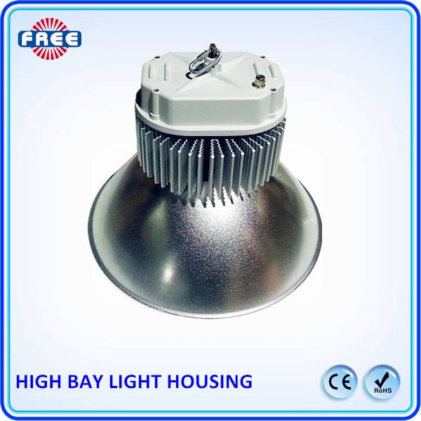 led effect high bay light housing with the heat sink for basketball light