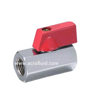 brass mini ball valve ABV701006