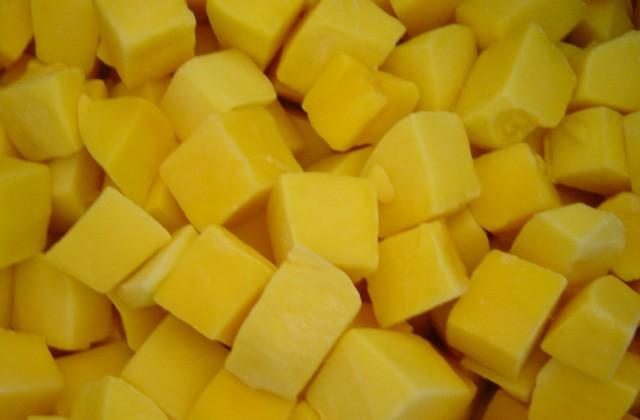 Frozen (IQF) Mango Slices & Dices