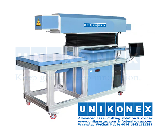 Laser marking machine with high precision and efficiency