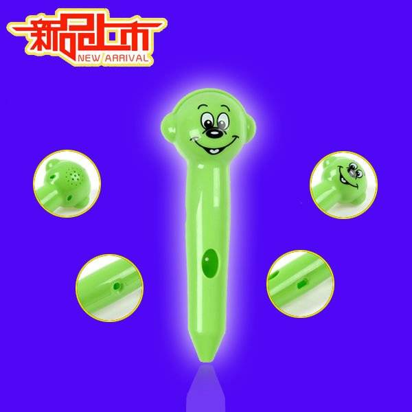 Fashion cartoon image electronic talking pen for kids SE009 with English Talking books
