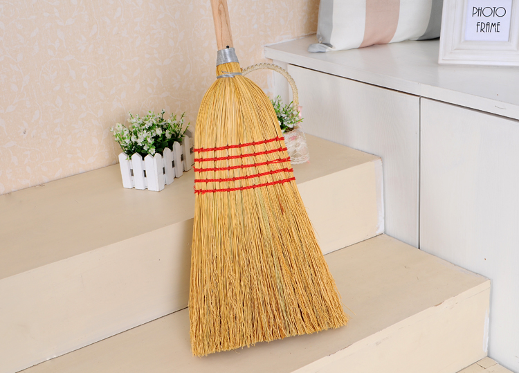 wholesale long wooden handle corn broom