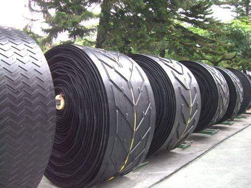 Rubber Belts Cleated Chevron Conveyor Belt