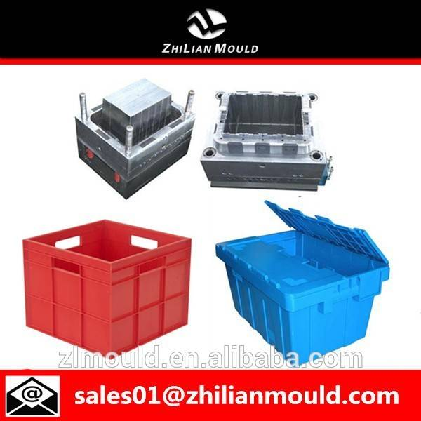 taizhou high quality plastic injection crate mold maker