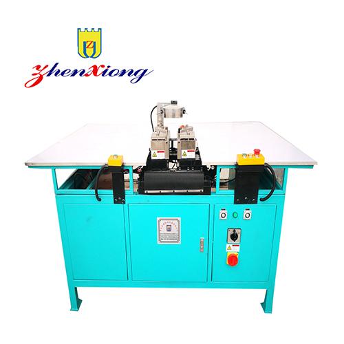 Automatic double corner refrigerator door gasket welding machine