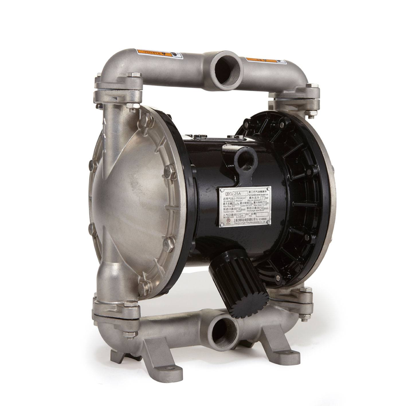 QBY3- 20 / 25 PTFE Air Operated Diaphragm Pump
