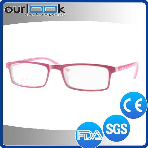 Latest Hand Made Pink Teenager Prescription Eyeglass
