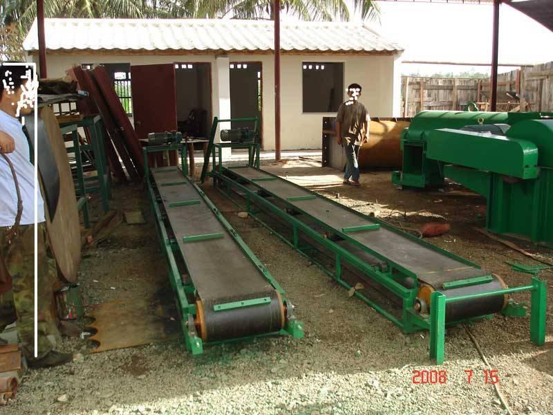 Transport strapping machine (coconut fiber machine-2).