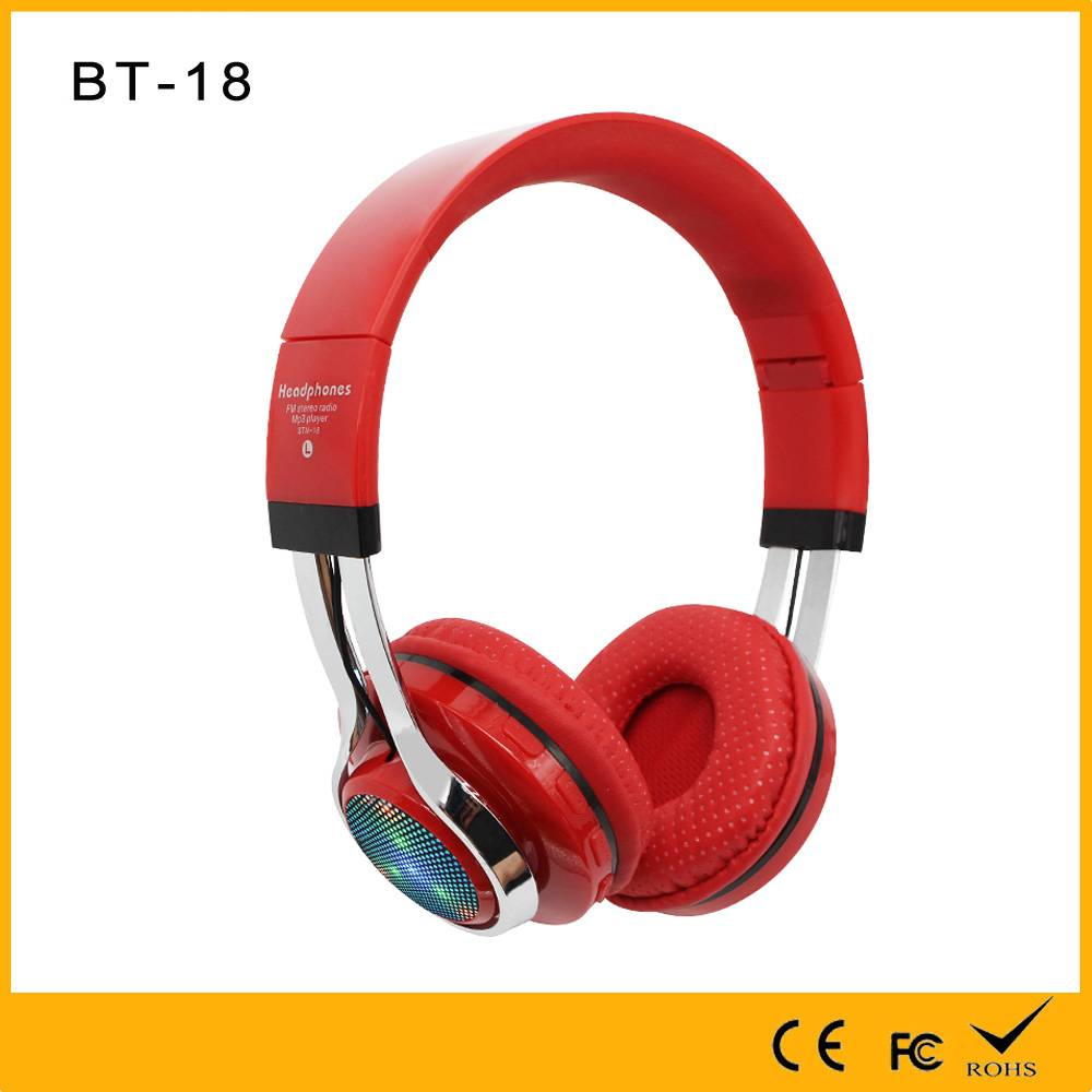 Golden Supplier with factory price with TF FM EQ function amazing wireless noise cancelling radio he