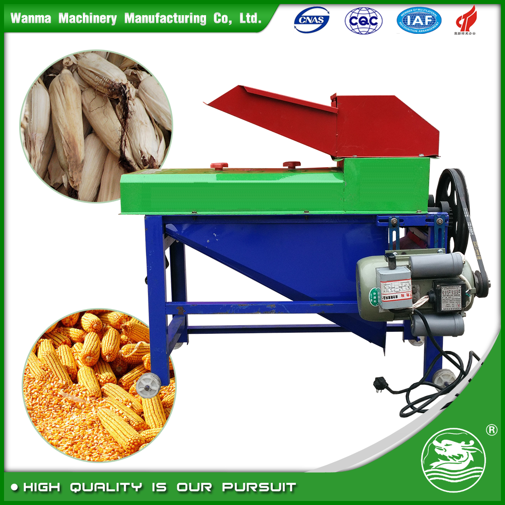 WANMA 5TYS-70 Multifunction Corn Peeler And Thresher Machine