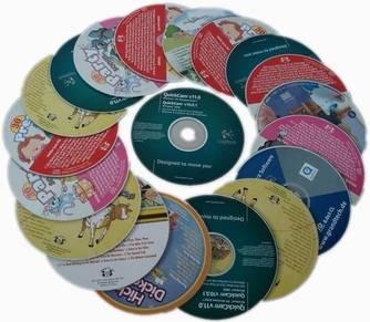 CD, DVD.VCD