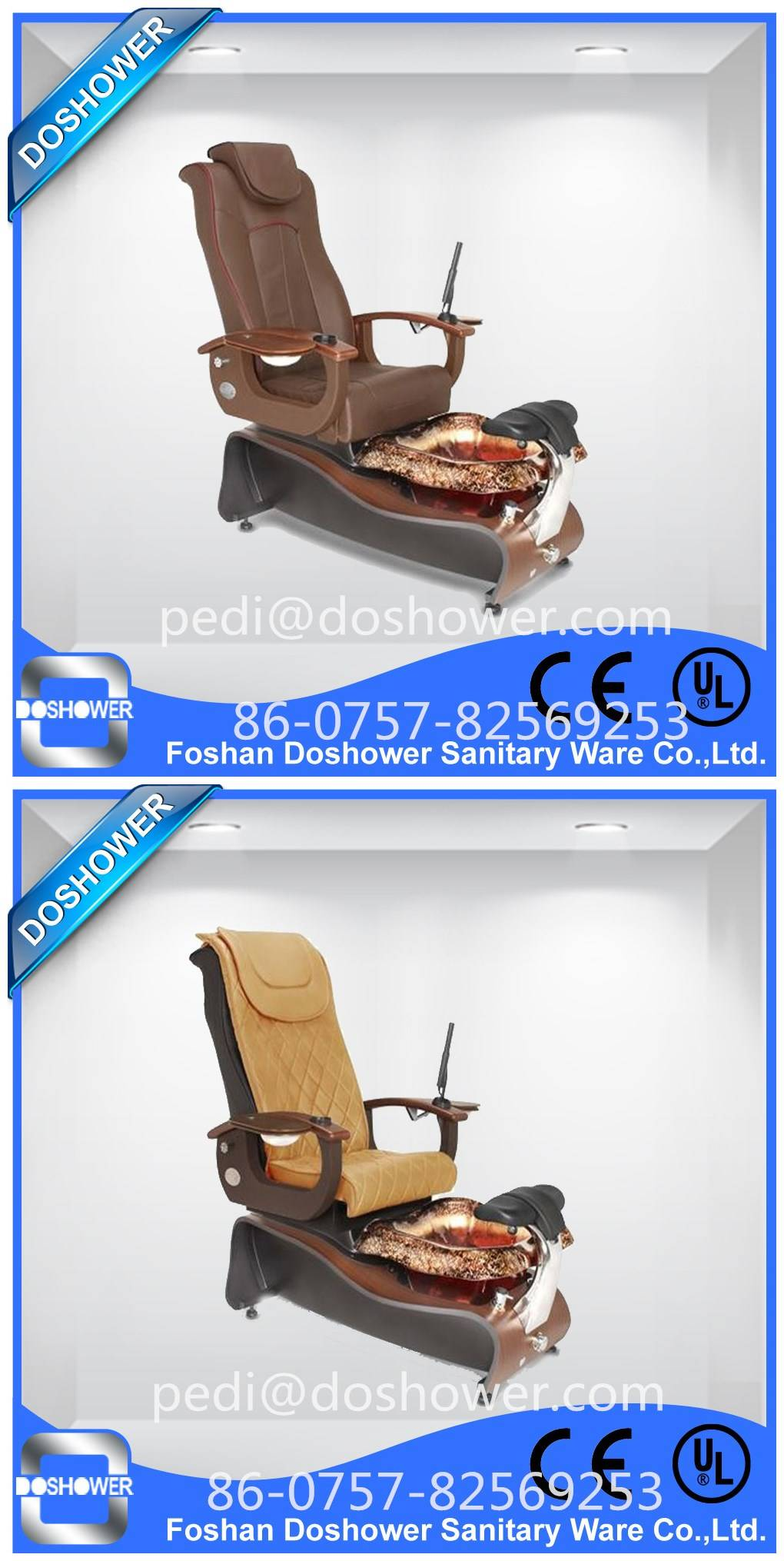 Doshower DS-W2 foot pedicure basin of pedicure spa chair 2016 luxury