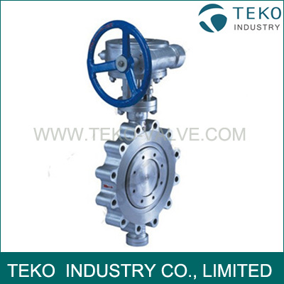 Triple Offset Eccentric Butterfly Valve