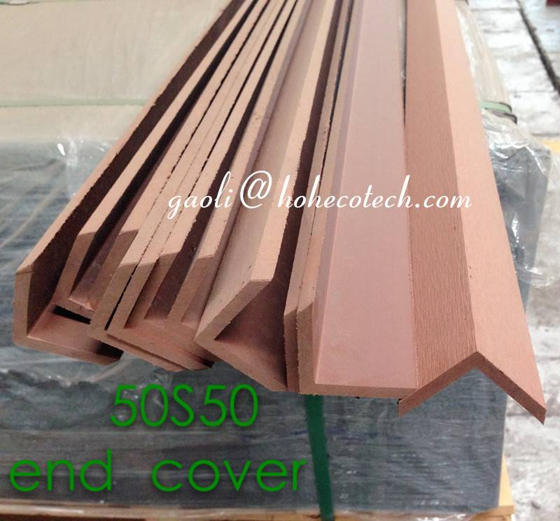 cheap price wood decking Wholesale anti crack end cover