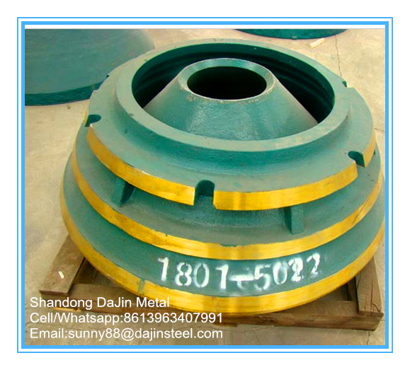 Metso HP300 bowl liner for cone crusher parts