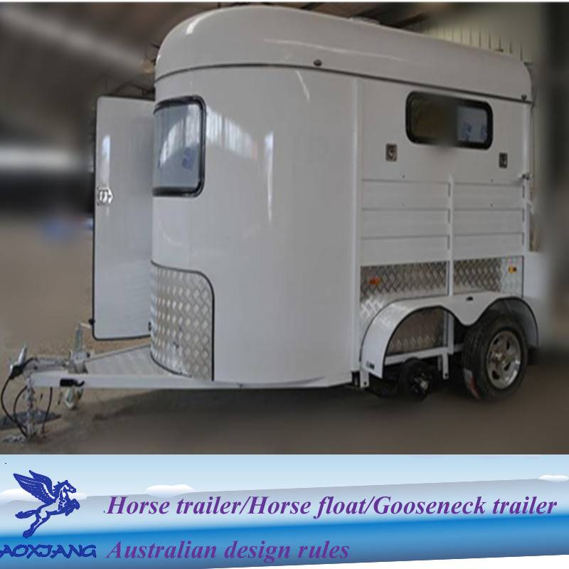 deluxe 2 horse loading horse camping trailers