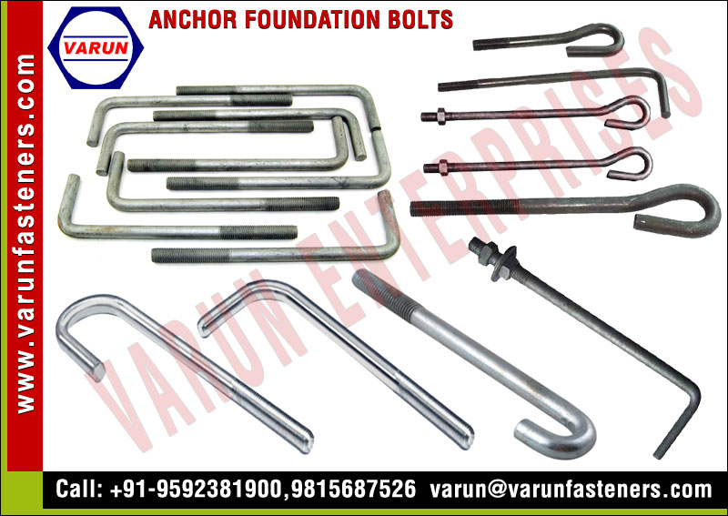Anchor Foundation Bolts