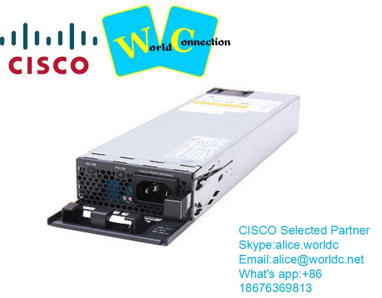 Cisco 1000W AC power supply for Catalyst 4503 4506 4507R PWR-C45-1000AC
