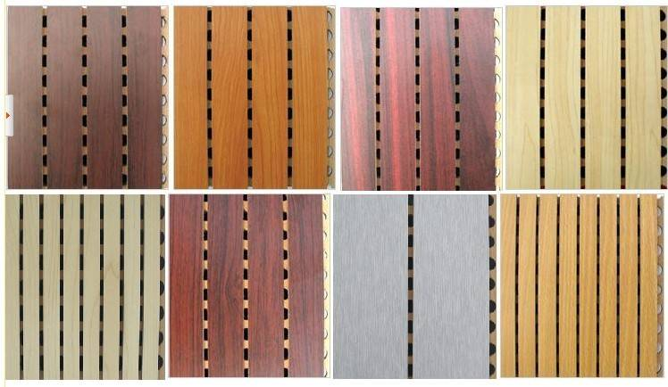 wooden acoustic panel