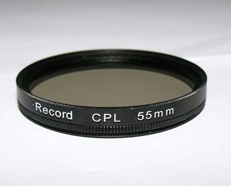 55mm circular polarizing filter camera CPL filter