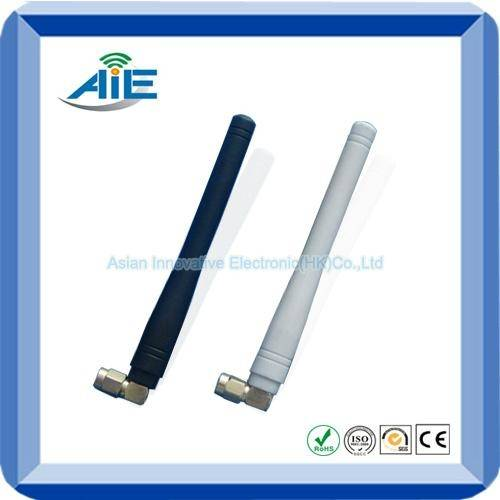 2.4G whip straight rubber antenna
