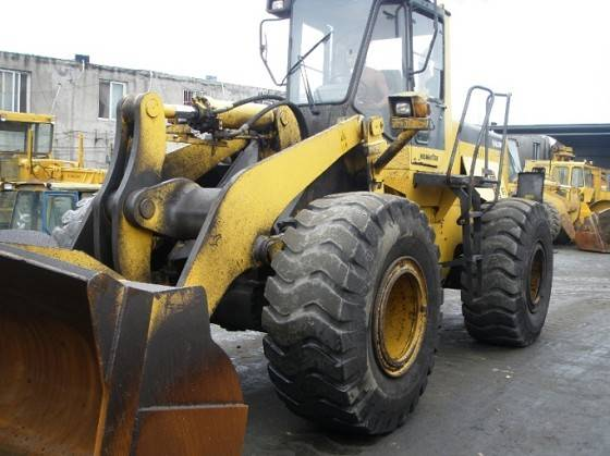 SECOND HAND WHEEL LOADER KOMATSU WA380-3