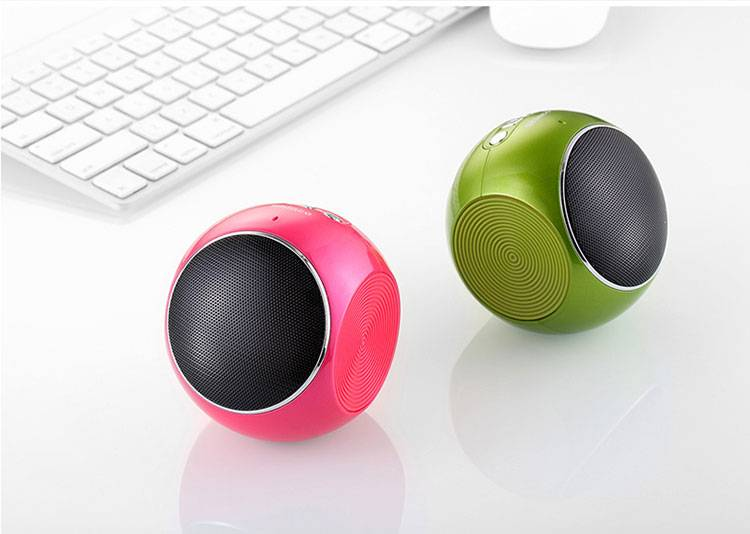 Portable cute mini wireless speaker