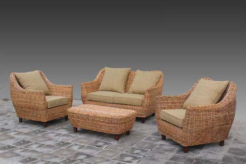 Water hyacinth sofa sets