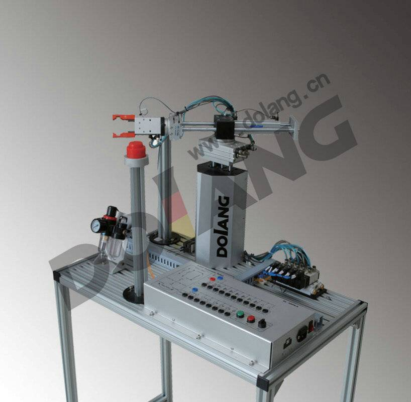 Five Degree of Freedom Pneumatic Manipulator Educational Training Equipment Didacitc Factory Automat