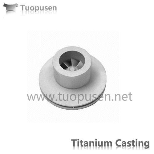 Titanium precision casting C5 HIP Titanium impeller high corrosion resistance