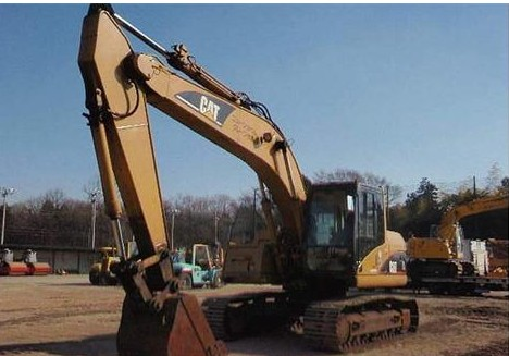 Used Crawler Excavator,CAT 320C of 2003