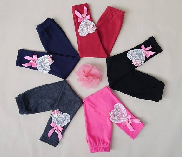 children girl winter/fall  double layer thick pants trousers