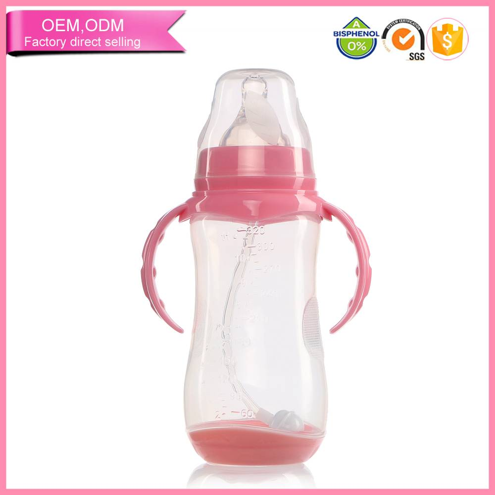 wholesale pacifiers baby safe feeding bottle standard neck various size