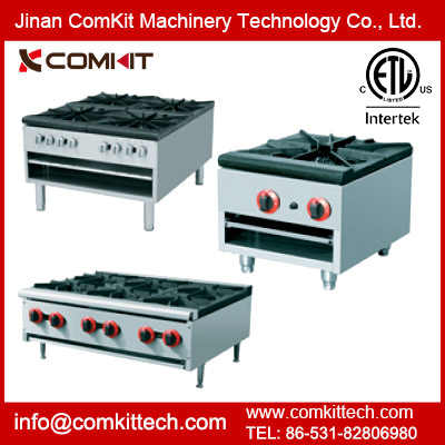 ETL Listed Commercial Countertop Gas Range / Stock Pot Gas Range / Gas Hot Plate / Gas Stove